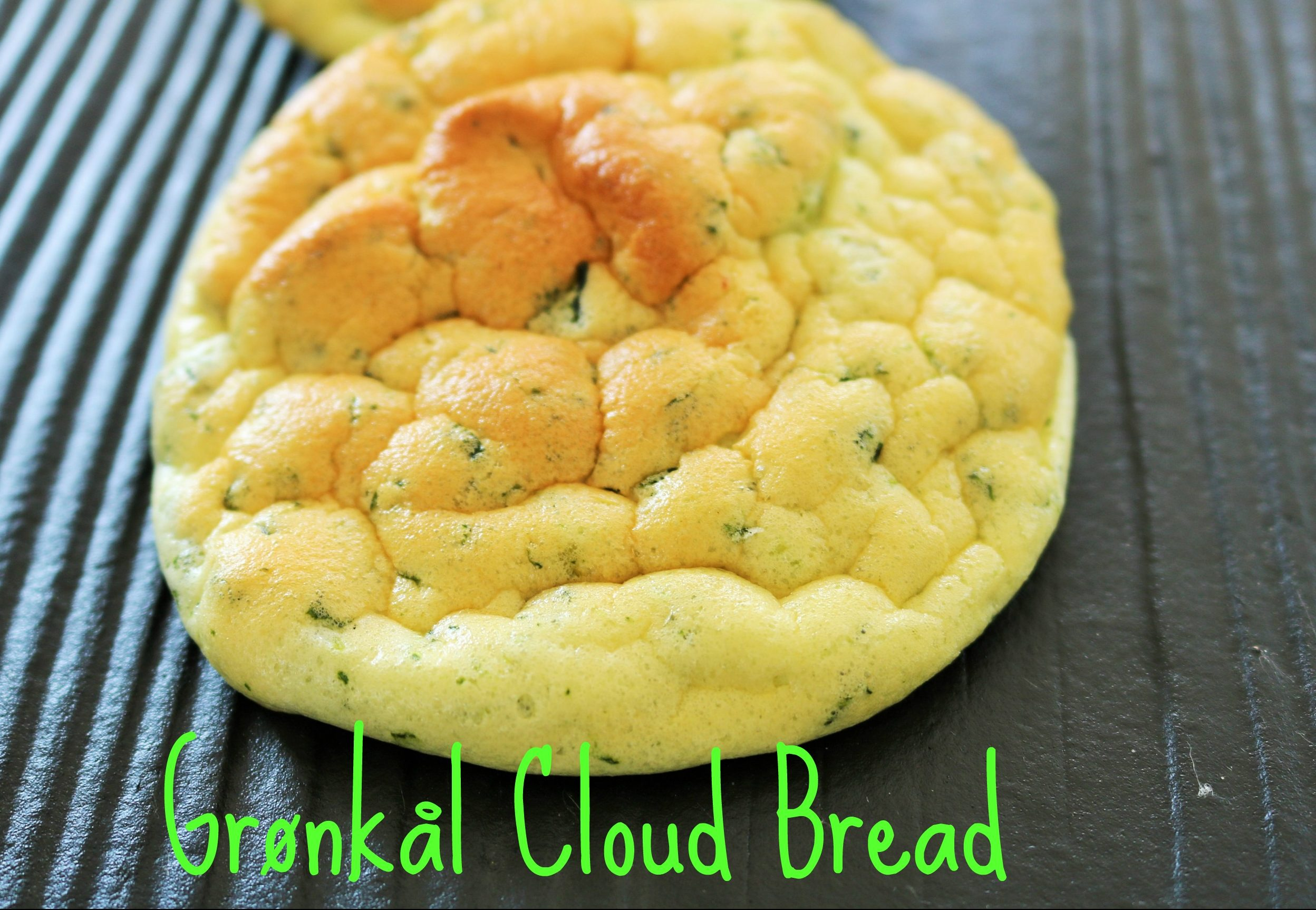 Grønkål Cloud Bread